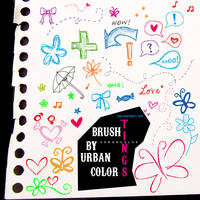 things brush by urbancolor