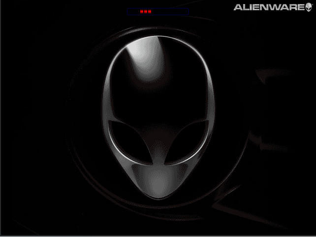 Alienware Boot Screen by Flaeger