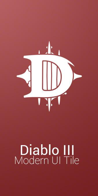 Diablo III Modern UI Tile