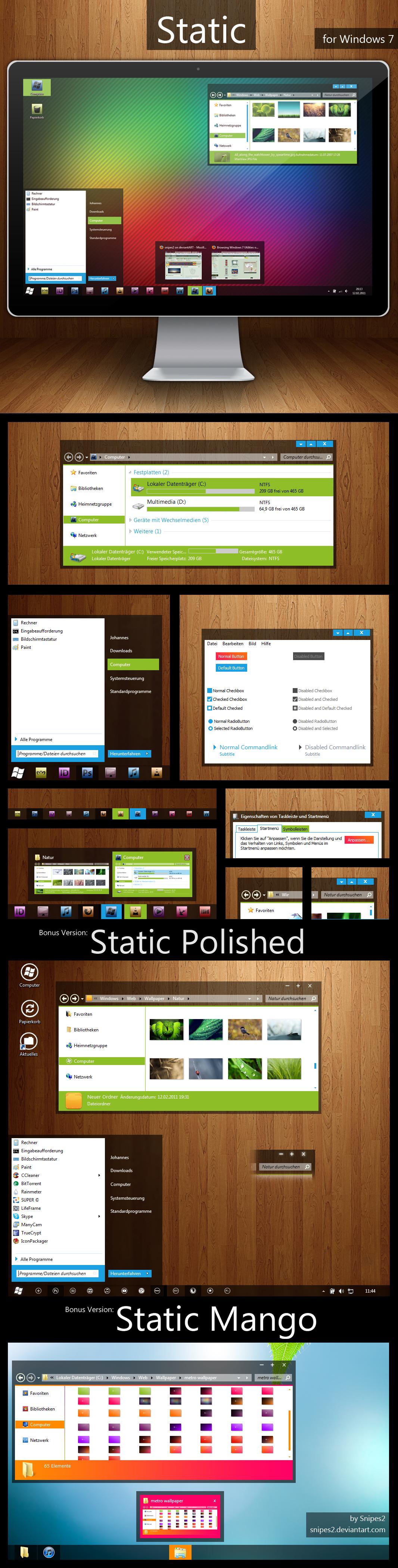 Static + Static Polished + Static Mango