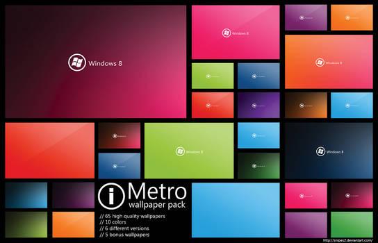 Metro wallpaper pack