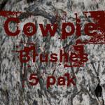 Cowpie Photoshop Brush Set by RapidYak