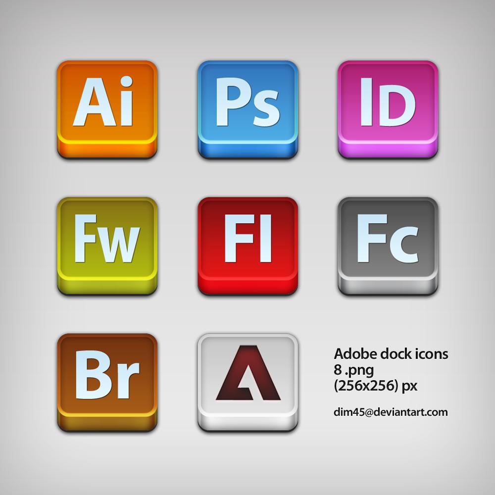 adobe icons by dim45