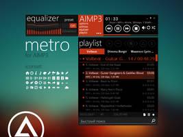 metro skin for AIMP3 by ikorolkov