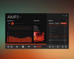Metro Touch AIO AIMP3 skin