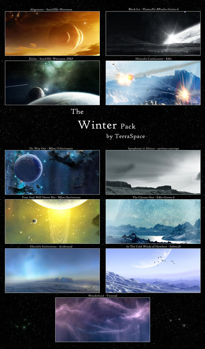 Winter Pack by TerraSpace