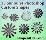 Sunbursts for Retro Designs
