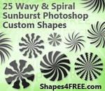 Swirly Sunbursts