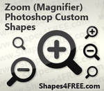 Magnifying Glass PS Shapes