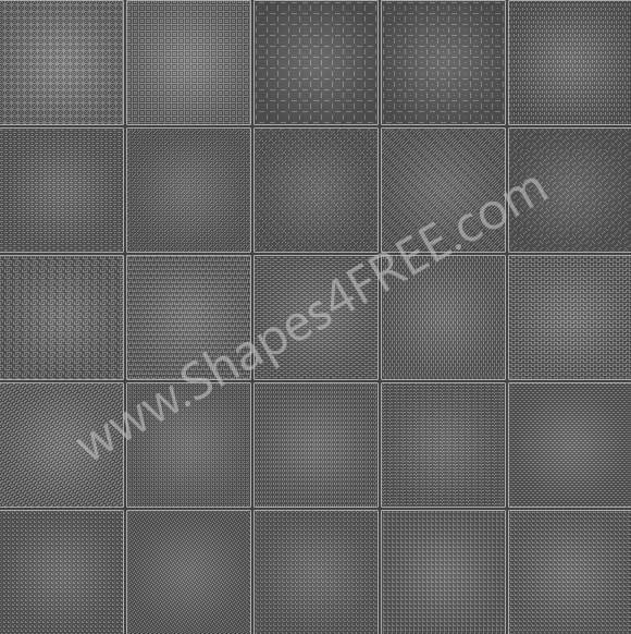 100 Photoshop Pixel Patterns by Shapes4FREE
