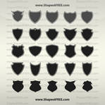 55 Shields Custom Shapes