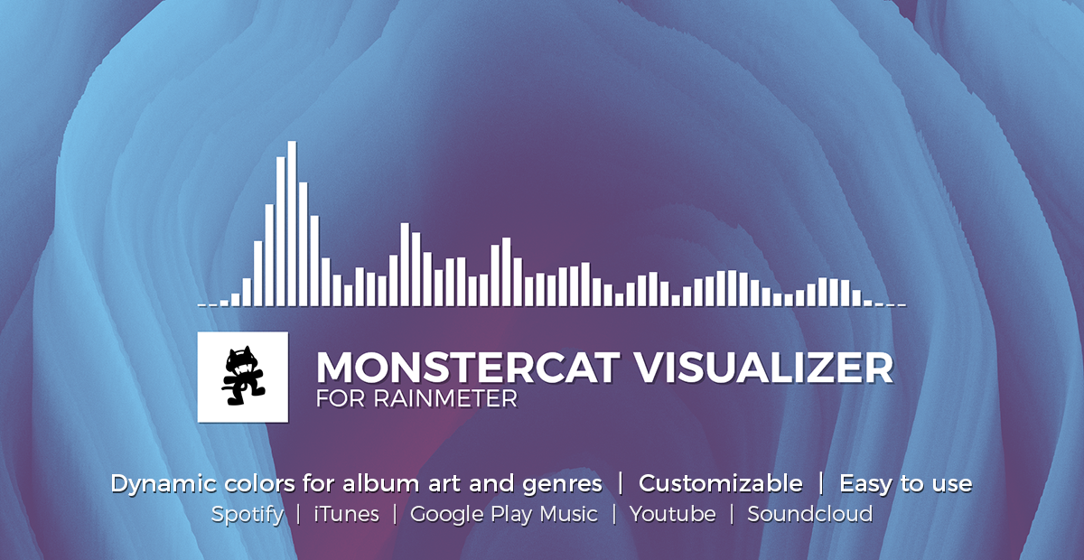 Monstercat Visualizer for Rainmeter by MarcoPixel on DeviantArt