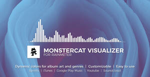 Monstercat Visualizer for Rainmeter