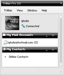 Glitch For Trillian by ipholio