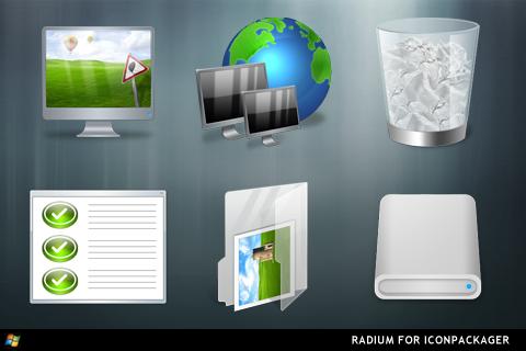 Radium For IconPackager