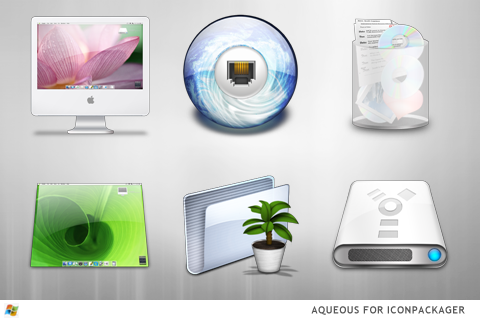 Aqueous For IconPackager