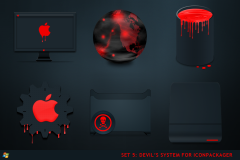 Чтоб установить иконки для Iconpackager вам понадобится скачать программу I