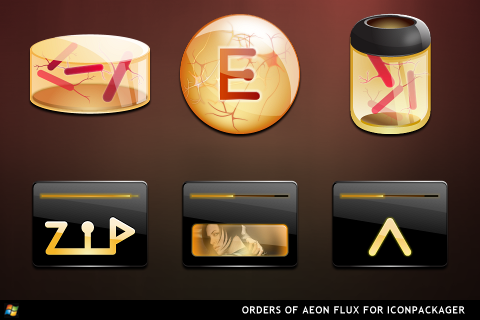 Aeon Flux For IconPackagaer by ipholio
