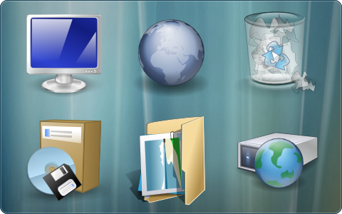 Vista Inspirate IconPackager by ipholio