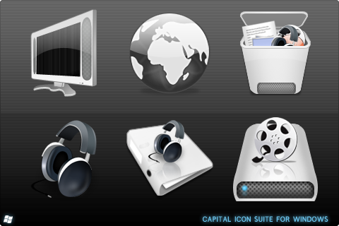 Capital Icon Suite For Windows by ipholio