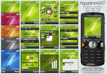 AquadromeXT For Sony Ericsson by ipholio