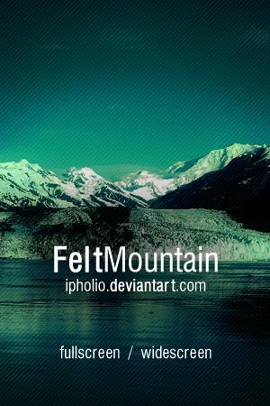 Felt Mountain Wallpaper Pack