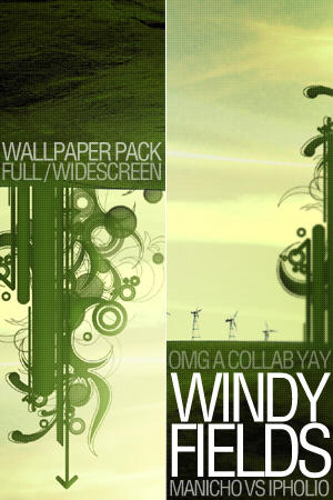 Windy Fields Wallpaper Pack by ipholio