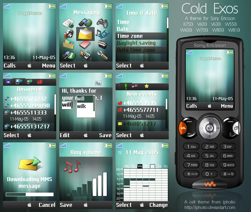 Cold Exos For Sony Ericsson