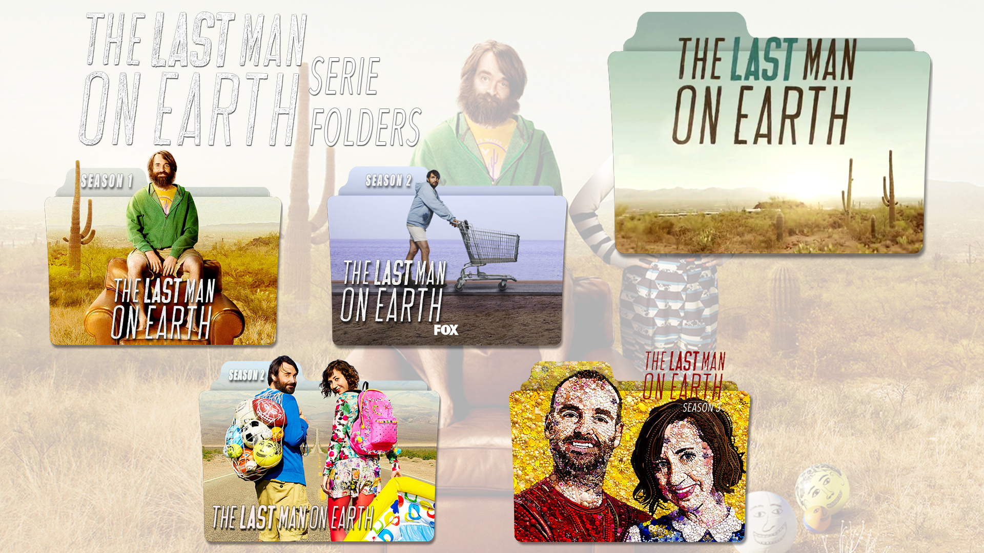 The Last Man On Earth Serie Folders By Orlanef On Deviantart