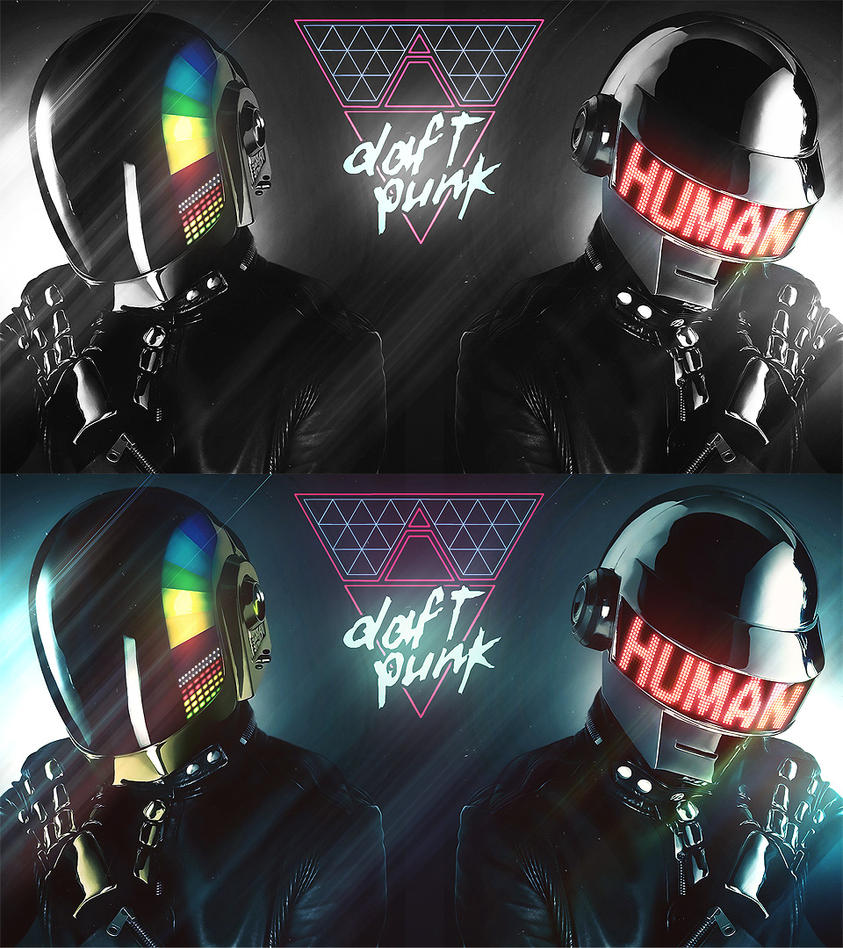 Daft Punk Wallpapers - FullHD by Panico747