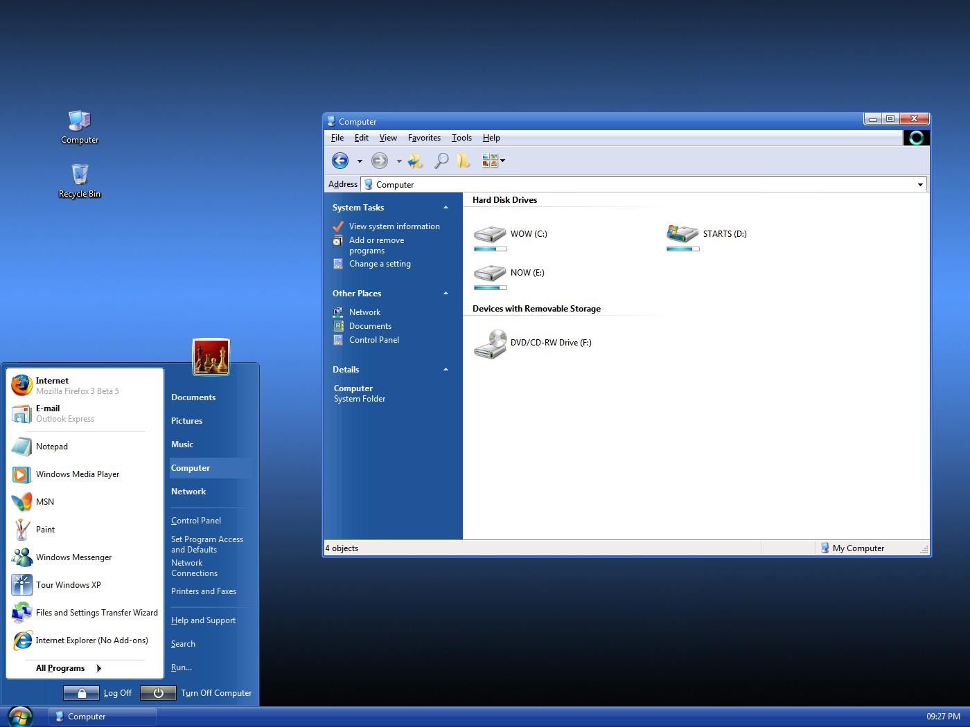 VistaVG Blue Refresh for XP