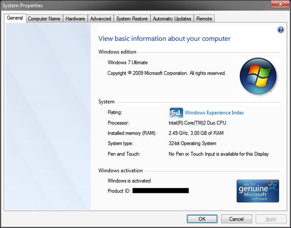 Windows 7 Mod for XP by sagorpirbd on DeviantArt