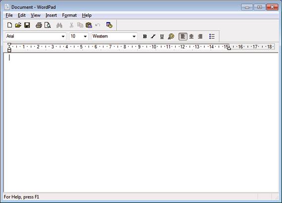 Wordpad скачать для Windows 8