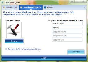 OEM Configurer for Windows by Vishal-Gupta