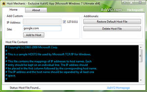 Host Mechanic for Windows by Vishal-Gupta