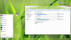 AeroVG Ei8ht Theme for Windows 8