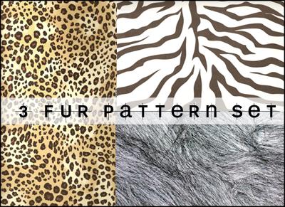 Fur Patterns by Vesperity-Stock