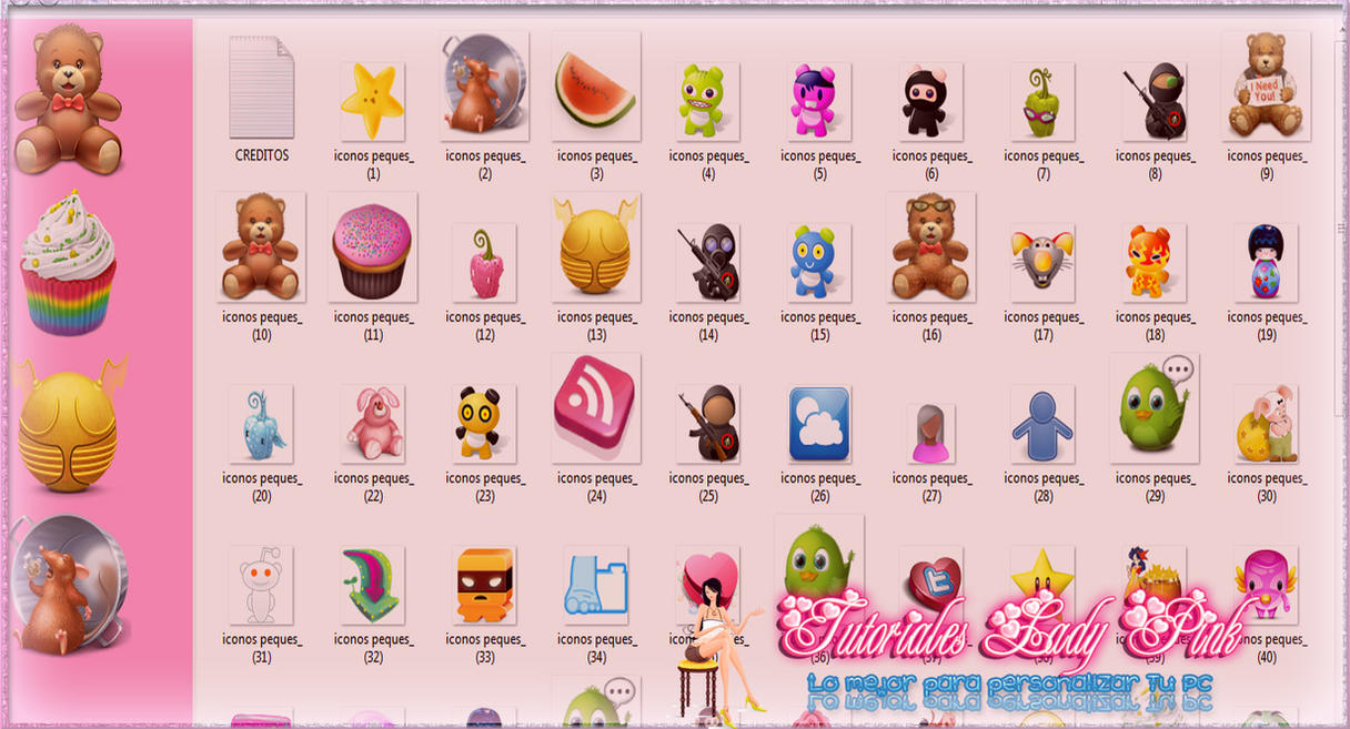 Tutos Lady Pink -- Lo mejor para tu PC