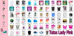 Pack de iconos de papeleras