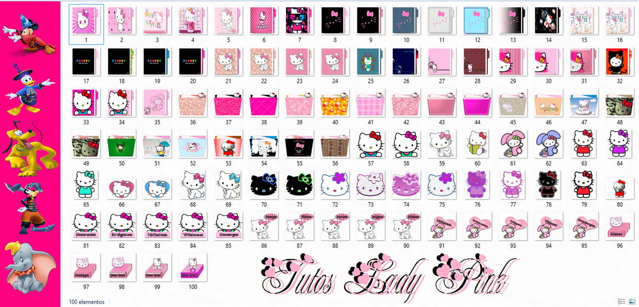 Iconos de kitty by TutosLadyPink