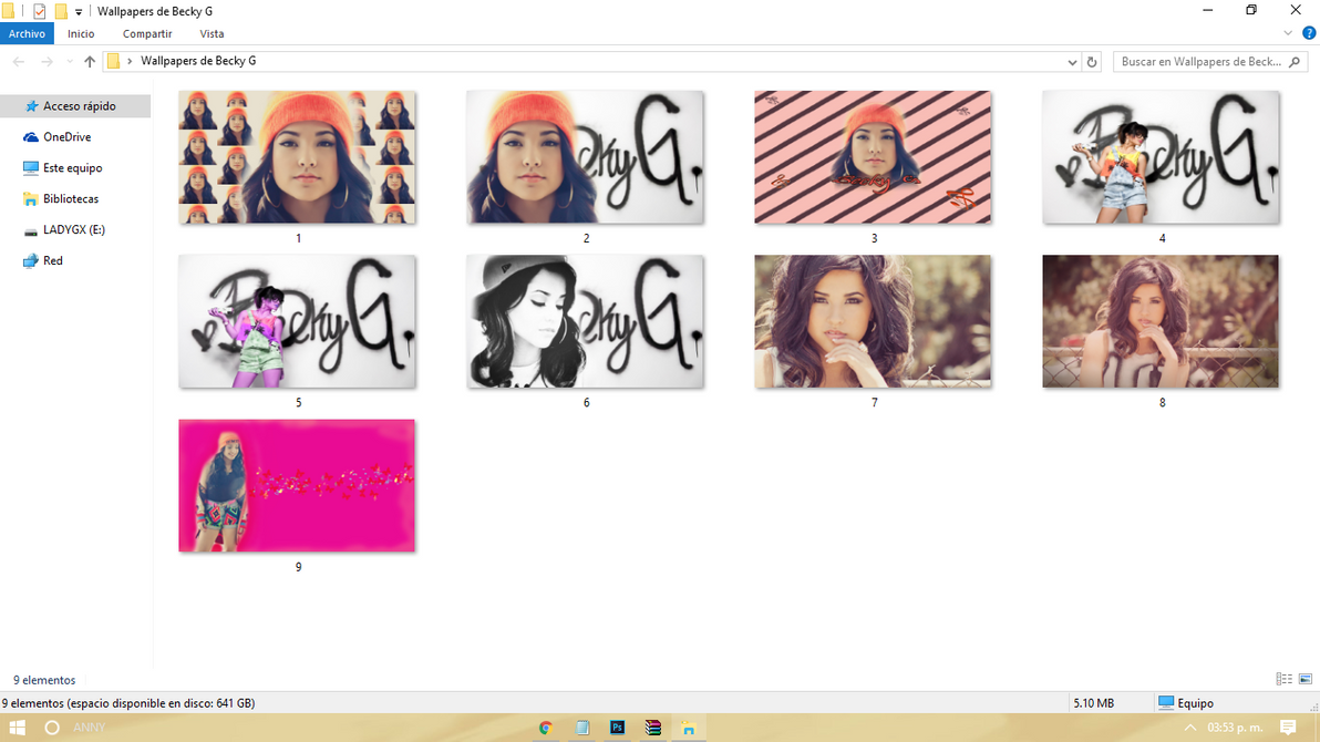 Wallpapers de Becky G by TutosLadyPink