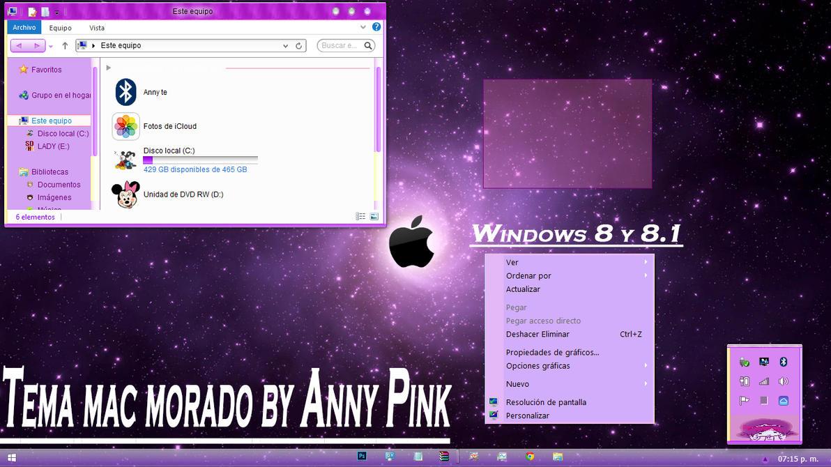Mac morado por Anny Pink por TutosLadyPink