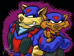 Swat Kats: T-Bone and Razor