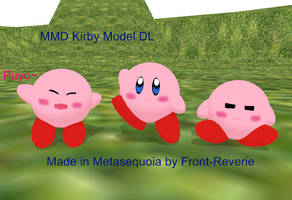 Kirby MMD model DL by front-reverie