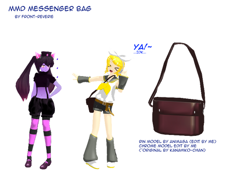Model Parts: Bags by SlaughterVomit P on DeviantArt