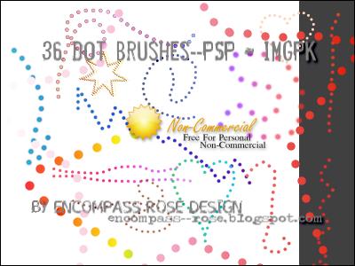 RBF_Dot Brushes by rosebfischer