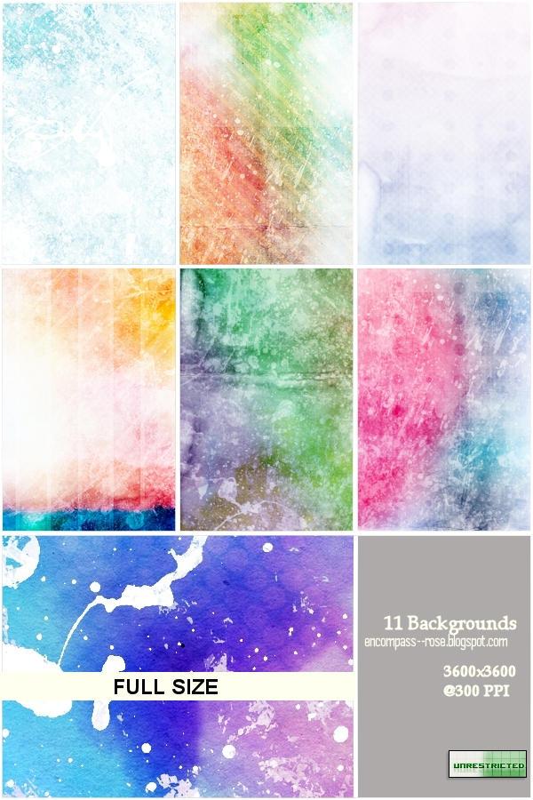 RBF colorgrungebgs unrestricted