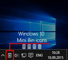 Mini Bin Windows 10 by Immy991