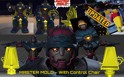 MasterMold-With Chair (FBX OBJ Download) UPDATED!*