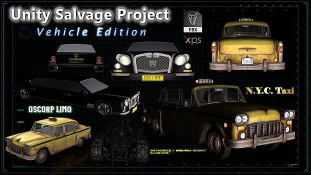 Salvage Project - Vehicles (FBX XPS OBJ MESH DL)
